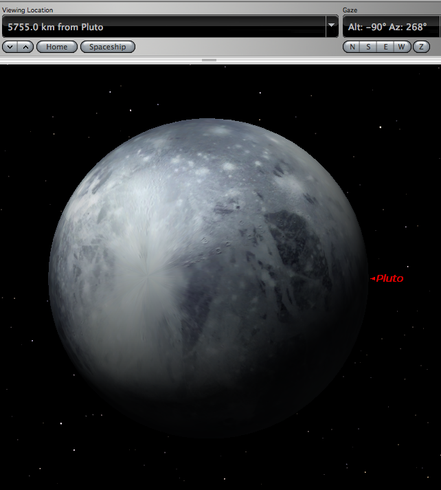pluto planet size - photo #10
