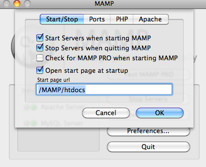 Develop PHP Code with Eclipse and MAMP (January 21, 2012