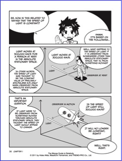 The Manga Guide To Relativity Book Review July 2 2011 Digerati
