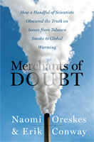 Merchants of Doubt dust cover 2010