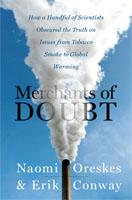 Merchants of Doubt dust cover 2010
